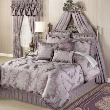 New York Bed Set J New York Bedding Touch Of Class Purple Grey Sheets And