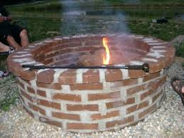 Brick Firepit Bricks For Pit Crafts Home Brick Pit Beautiful Ideas