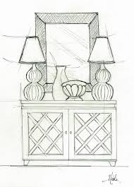 nilessa interiors interior sketches