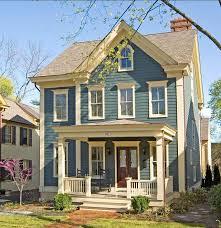 exterior house colors blue interior design