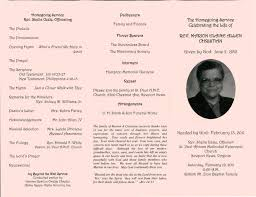 sle funeral programs awesome collection of funeral program friday marion allen