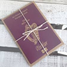 wedding invitations dublin wedding passport invitations united kingdom travel