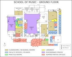 Uofa Map Ua Outreach Band Fred Fox Of Music