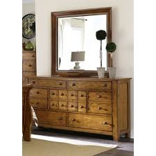 bedroom dresser with mirror buy 7 drawer dresser with mirror by liberty furniture shop for