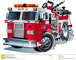 vector cartoon fire truck royalty free stock images image 26591809