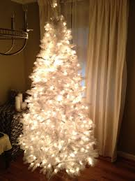 white tree with lights images of christmas white tree home design ideas resume format