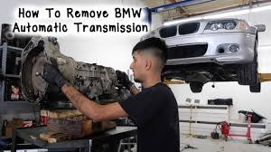 how to remove bmw e46 automatic transmission youtube