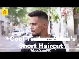 Short Hairstyles For Men With Thick Hair Short Haircut For Men With Thick Hair And Bald Fade Cool Textured