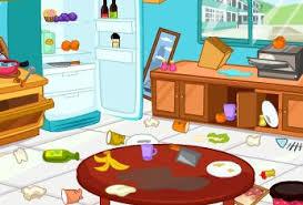nettoyer cuisine jeu de nettoyage et rangement de la cuisine sur jeudefille com