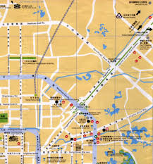 Beijing Map Beijing Chaoyang Map 1 B Zoom Chaoyang Partial Map By The