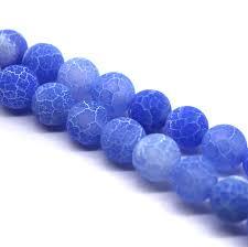 light blue semi precious stone semi precious stones tagged size 16mm butterfly beads jewellery