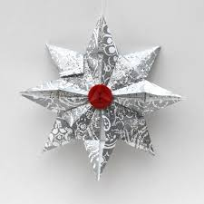 ornament advent day 16 origami the crafty