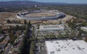 spaceship campus apple new footage reveals the amazing progress of apple u0027s