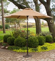 Patio Furniture Set With Umbrella - amazon com hanover umbrellabase iron umbrella base for monaco