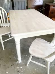 White Wash Table And Chairs White Washed Maple Table Entri Ways