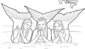 Coloring Pages Mermaids H2o Coloring Pages Mermaids H2o Printable H2o Coloring Pages