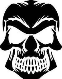 skull stencils free yahoo image search results skull