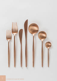 Design For Copper Flatware Ideas Alluring Design For Copper Flatware Ideas Ideas About Contemporary