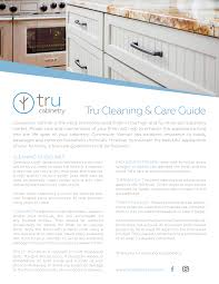 how to clean varnished cabinet doors tru cleaning care guide