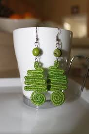 jute earrings hobby crafts quilled jhumkas and jute earrings diy jewelry