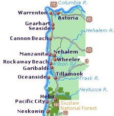 map of the oregon coast oregon health authority current conditions water