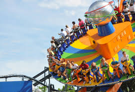 Six Flags Giant Spinsanity Is The Latest Thrill To Whirl Into Six Flags St Louis