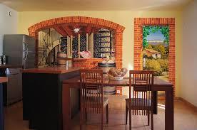 trompe l oeil cuisine fresques murales peintures trompe l oeil décorative intérieures