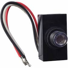 woods dusk to dawn light control troubleshooting woods dusk to dawn button style photocell 59408 black walmart com