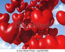 heart shaped balloons heart shaped balloons floating in the sky heart stock