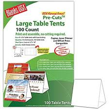 Avery Table Tents Blanks Usa 6