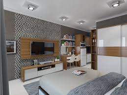 Interior Design Apartemen Type Studio  Gambar Desain Rumah Minimalis