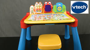 activity desk for touch and learn activity desk deluxe from vtech youtube