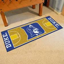 duke university blue devils basketball court rug