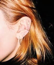 ear piercing hoop cool ear piercing piercing ideas with photos
