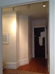 how do you define a skimpy little foyer with paint color
