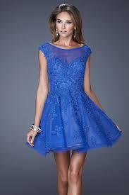 royal blue juniors prom dresses cap sleeve homecoming dresses