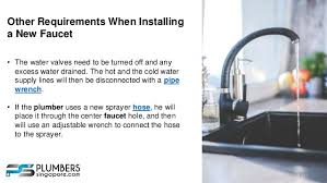 Installing New Kitchen Faucet Install A Single Handle Kitchen Faucet In Singapore