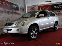 2008 lexus rx 400h awd 2006 lexus rx 400h awd hybrid in millenium silver metallic