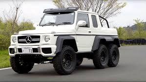 mercedes 6x6 this mercedes g63 amg 6x6 clone is really a suzuki jimny