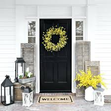 front door decoration ideas for fall decorations summer greet