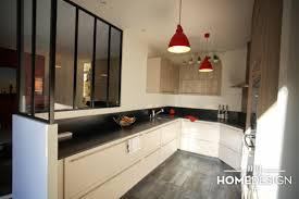 verriere entre cuisine et salle à manger une verrière indus sublime le volume amenagement cuisine idée