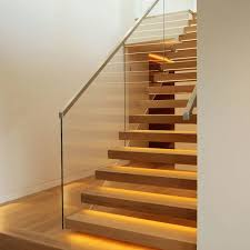 Modern Banisters Uk Timber Stairs With Glass Balustrade Stainless Steel Google