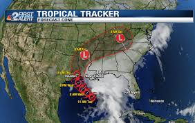 Map Of Fort Myers Florida by Tropical Storm Cindy Forms In Gulf Nbc 2 Com Wbbh News For Fort