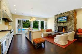 kitchen room cool modern living room kitchen combo with