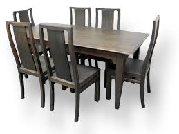 Six Seater Dining Table And Chairs Dining Table Knock On Wood Bringing Wood To New