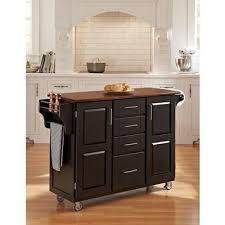 kitchen cabinet doors home depot canada home styles create a cart black finish with cherry top