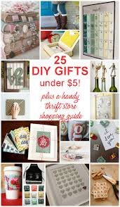 25 diy gifts under 5 holidays store and craft