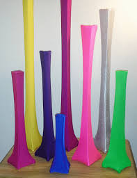 Tower Vases Spandex Vase Kits For Your Wedding Or Party Event Smileyme Com
