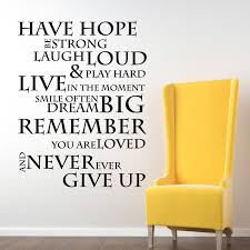 online buy wholesale modern graphic art from china modern graphic have hope inspirational office wall quotes art graphics letters wall sticker free ship