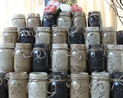 Mason Jar Vases For Wedding Etsy Your Place To Buy And Sell All Things Handmade